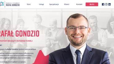 Rafał Gondzio radca prawnyy